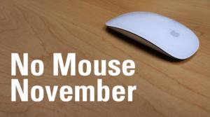 No Mouse November Logo
